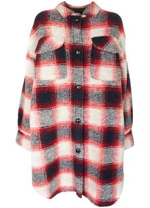 Isabel Marant Gario Checked Coat