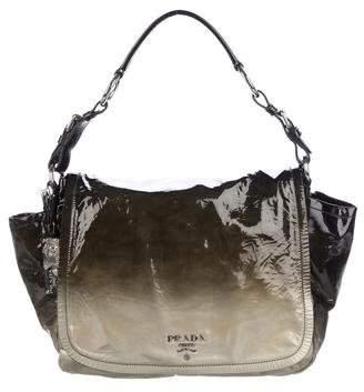 Prada Vernice Sfumata Flap Bag