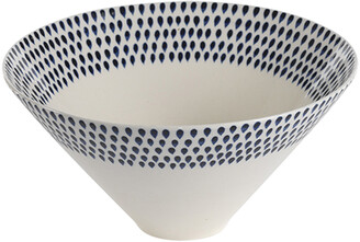Nkuku Indigo Drop Serving Bowl - Medium