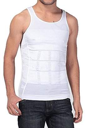 Lifeshop Slimming Waist Body Shaper Vest Compression Undershirt For Men