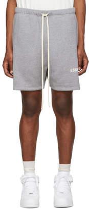 Essentials Grey Fleece Sweat Shorts