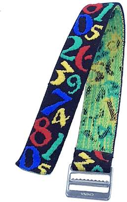 Timex Youth & Adults   Elastic Strap   Learning Numbers Design Fits T7B151, T89022, T89001, TW7B99500, & More...
