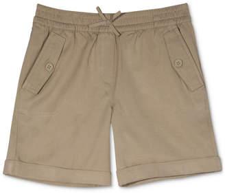 Nautica Big Girls Plus Cuffed Twill Shorts