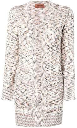 Missoni melange knitted cardigan
