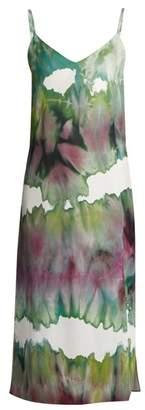 Acne Studios - Sway Slip Dress - Womens - Green Multi