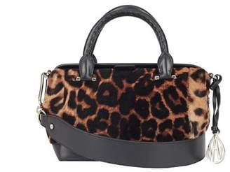 Amanda Wakeley Leopard Print Mini Portman Handbag