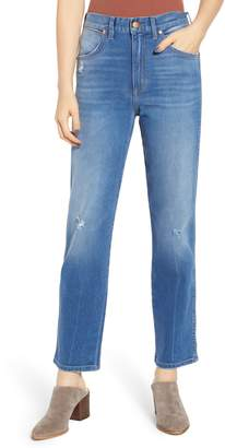 Wrangler Heritage Fit High Waist Jeans