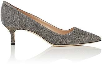 Manolo Blahnik MANOLO BLAHNIK WOMEN'S LUREX BB PUMPS $695 thestylecure.com