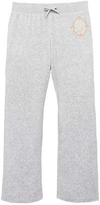 Juicy Couture Girls Velour Starlight Straight Leg Trouser