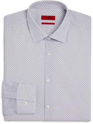 HUGO Square-Dash Slim Fit Dress Shirt