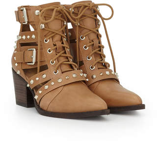 b37336104eb2 Sam Edelman Brown Leather Boots For Women - ShopStyle UK