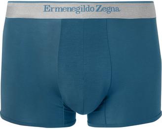 Ermenegildo Zegna Stretch-Modal Jersey Boxer Briefs