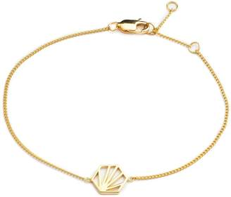 Rachel Jackson London - Serenity Chain Bracelet Gold