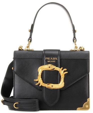 pradaPrada Animalier leather bag