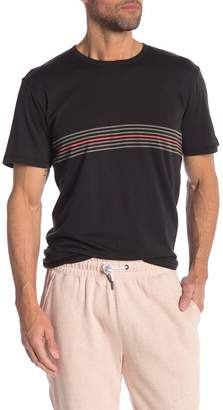 Onia Johnny Stripe Crew Neck Tee