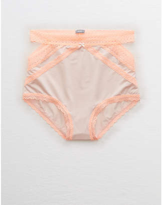 aerie Shine High Waisted Boybrief
