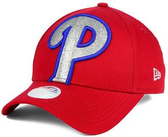 New Era Women's Philadelphia Phillies Glitter Glam 9FORTY Strapback Cap