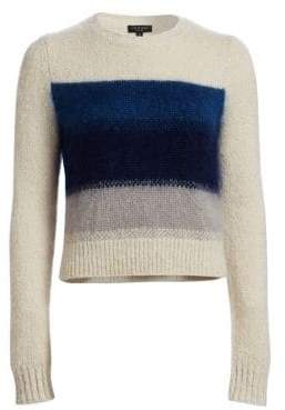 Rag & Bone Holland Ombre Stripe Crop Sweater