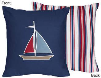 JoJo Designs Sweet Nautical Nights Cotton Throw Pillow