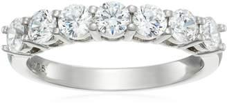 Swarovski Amazon Collection Sterling Silver Zirconia 1 cttw Round Ring, Size 9