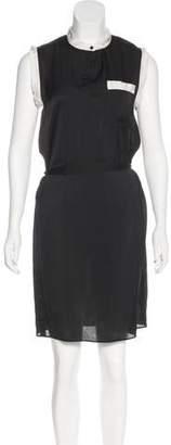 Lanvin Colorblock Sleeveless Dress