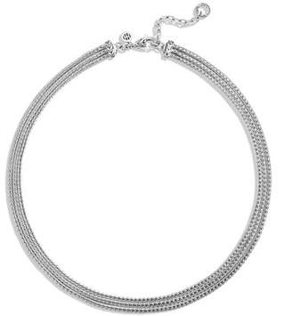 John Hardy Classic Chain Three-Row Necklace