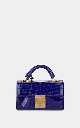 Stalvey Women's Top-Handle 2.0 Mini Alligator Satchel - Blue