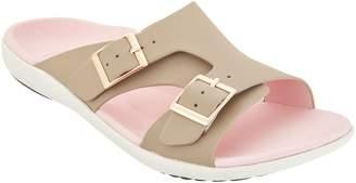 Spenco Orthotic Adjustable Slide Sandals - Brighton