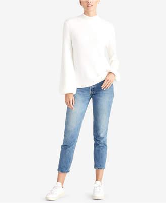 Rachel Roy Ribbed Turtleneck Sweater