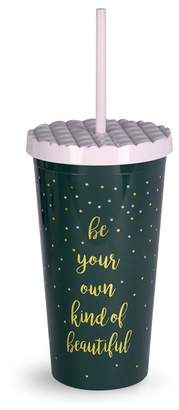 Vera Bradley Falling Dots 20 oz. Tumbler with Straw