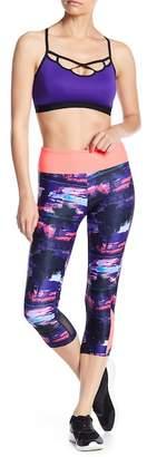 Bally Total Fitness Print Capri Leggings