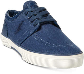 Polo Ralph Lauren Faxon Men's Chambray Sneakers Men's Shoes