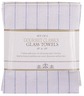 Harold Import Co. S/6 Glass Towels