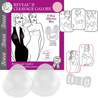 ecf5a706db at Kohl s · Braza Bra  Reveal 2 Cleavage Galore Silicone Strapless Backless  Adhesive Push Up Bra 7840