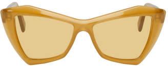 Dagmar VIU Yellow House of Edition The Hustler Sunglasses