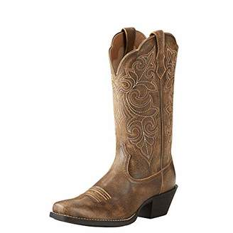 Ariat Round Up Square Toe Western Boot Size 10 B/Medium US