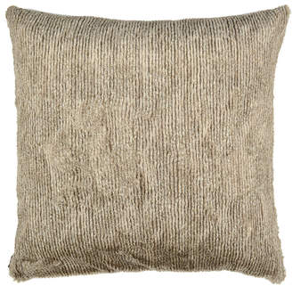 Aviva Stanoff Design Corded Faux Fur Accent Pillow