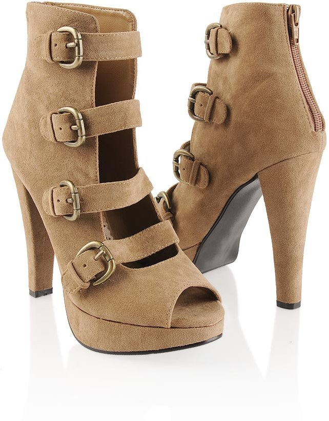 Strappy Ankle Pumps