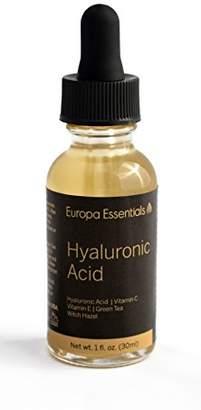 Europa Essentials Botanical Anti-Aging Serum (Professional Strength-plus Vitamins C & E