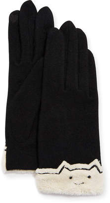 Portolano Kitty Kat Wool Tech Gloves