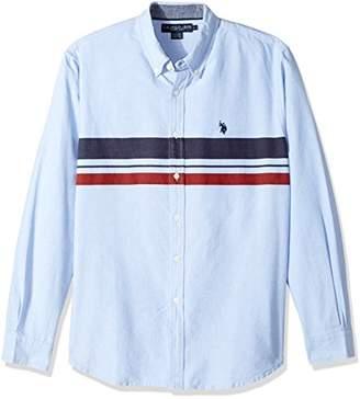 U.S. Polo Assn. Men's Classic Fit Long Sleeve Sport Shirt