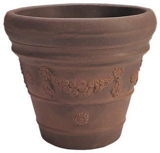 Crescent Garden Festonada Resin Pot Planter