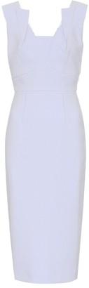 Roland Mouret Coleby crepe dress