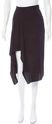 Nicholas High-Low Midi Skirt
