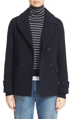Vince Wool & Cashmere Peacoat $545 thestylecure.com