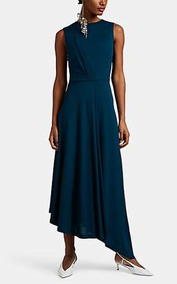 be442518af Givenchy Women s Draped Crepe Asymmetric Dress - Blue