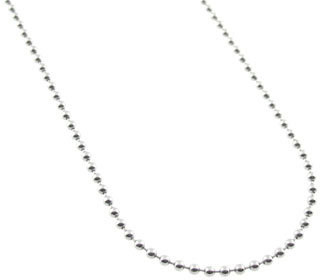Temple St.Clair Tiny Ball Chain in White Gold 16