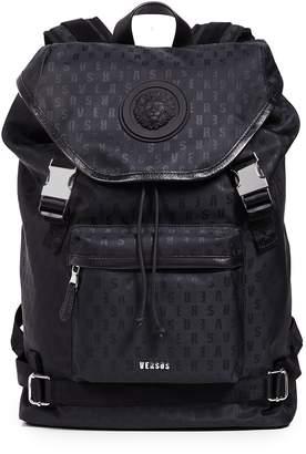 Versus Nylon Top Loader Backpack