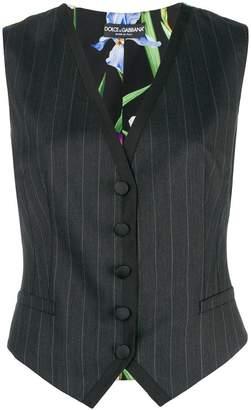 Dolce & Gabbana two pattern waistcoat