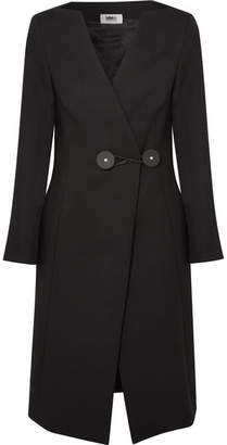 MM6 MAISON MARGIELA Twill Coat - Black